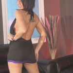 Nikki sims tiny black club dress video captures