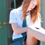 ftv lacie read head school girl up skirt pic