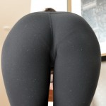 ashleys candy tight ass in black yoga pants