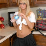 sexy school girl makenzie from phil flash