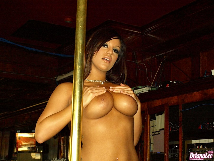 Naked pole dancing fine