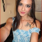 tatted teen minka self pic